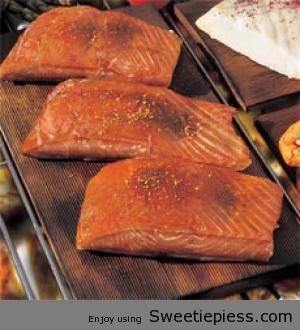 Western Cedar Plank Salmon
