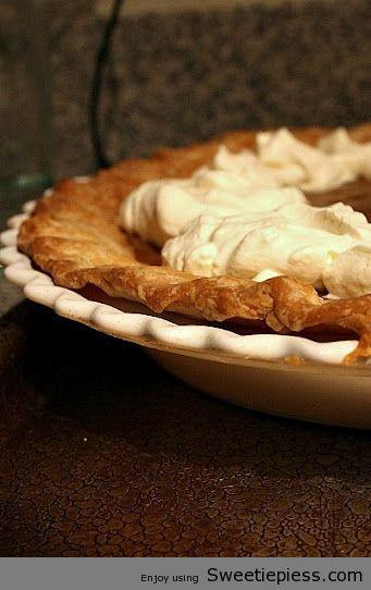 Butterscotch Pie By Sweetie Pie