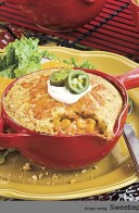 CHICKEN PIE WITH CORNBREAD Recipe