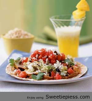 Mr.Tim's Favorite  Chicken Tostadas