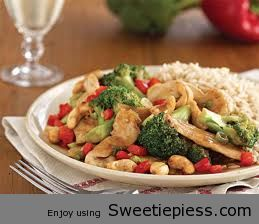 Chicken and Cashews Made By Mr.Tim