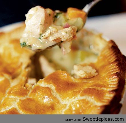 Sweetie Pie's Shares Chicken and Ham Pie