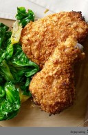 Crispy Baked 'Fried' Chicken BY Miss Robbie