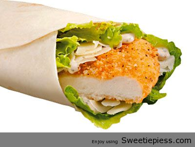 Crispy Chicken Caesar Wraps by Mr.Tim