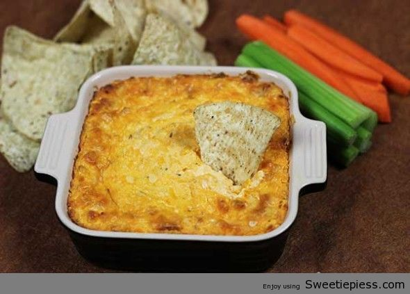 Easy Buffalo Chicken Dip Made By Miss Robbie