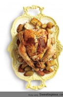 Sweetie Pie's Share Lemon Thyme Roasted Chicken with Potatoes