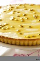Miss Robbie Shared Passionfruit Puddle Pie