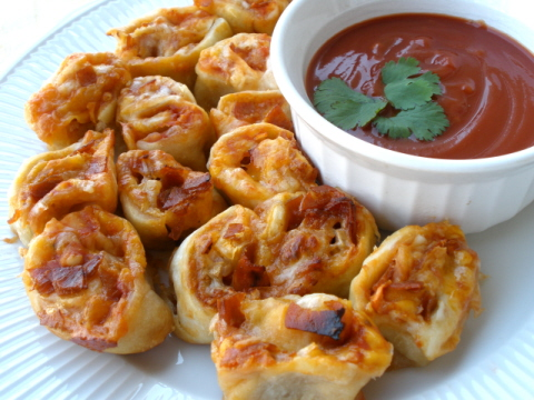 Pizza Rolls made by Mr.Tim