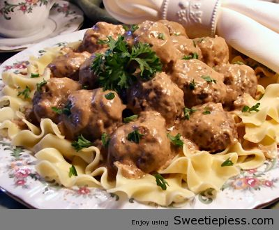 Miss Robbie Shares Swedish Meatballs