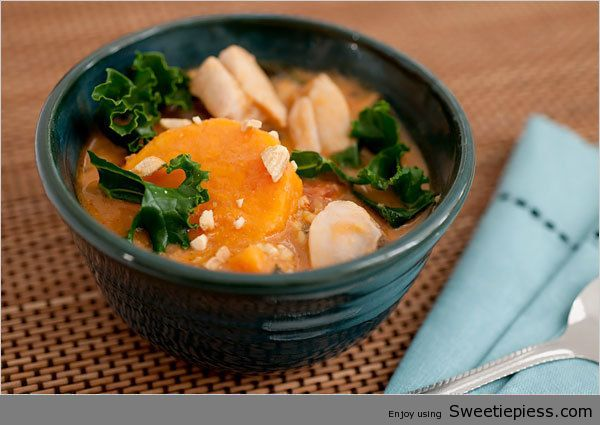 Chicken Peanut Soup By Miss Robbie