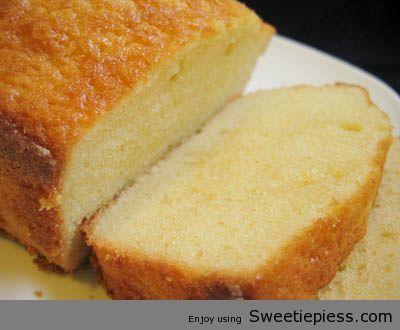 Sweetie Pies Pound Cake Recipe